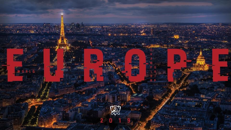 París, sede de los WORLDS 2019
